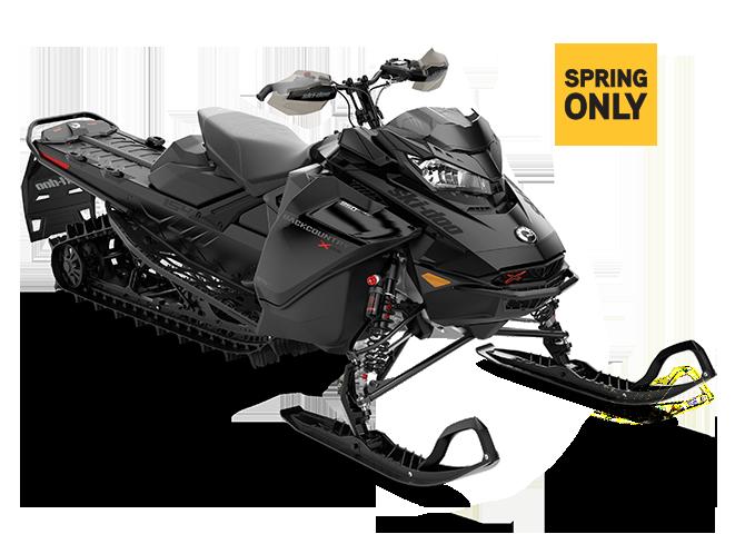Снегоход BACKCOUNTRY X-RS 154 850 E-TEC Black (2022)