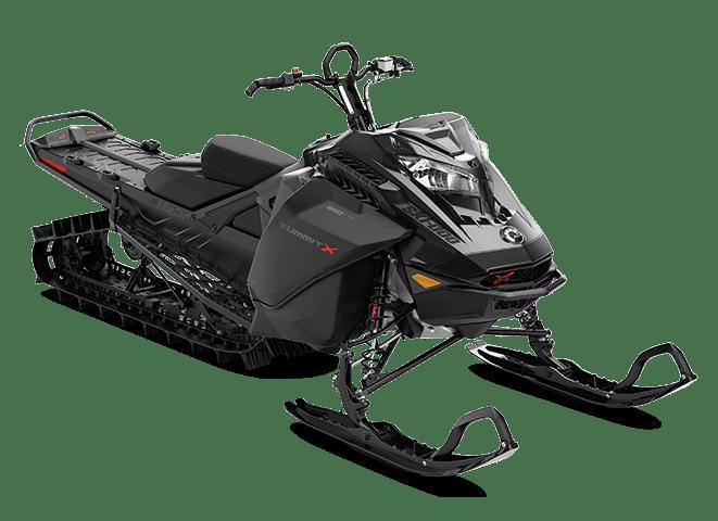 Снегоход SUMMIT X 165'' 850 E-TEC BLACK (2022)